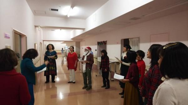 クリスマス・キャロリング@世田谷神経内科病院